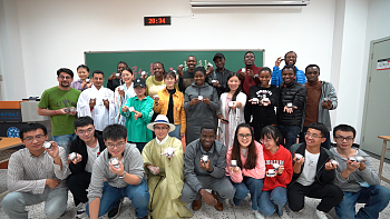 International student celebrates Mid Autumn Day